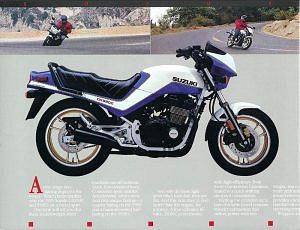 Suzuki GSX550E (1984-86)