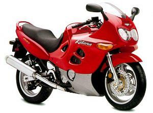 Suzuki GSX 600F Katana (2002-03)
