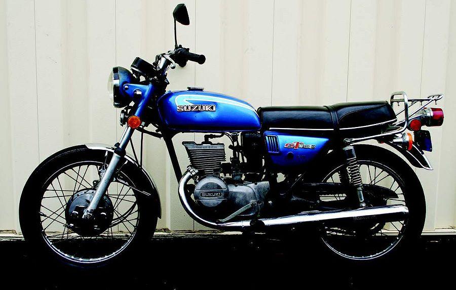 Suzuki GT185K (1972-73)