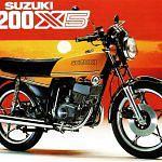 Suzuki GT200X5 (1979-83)