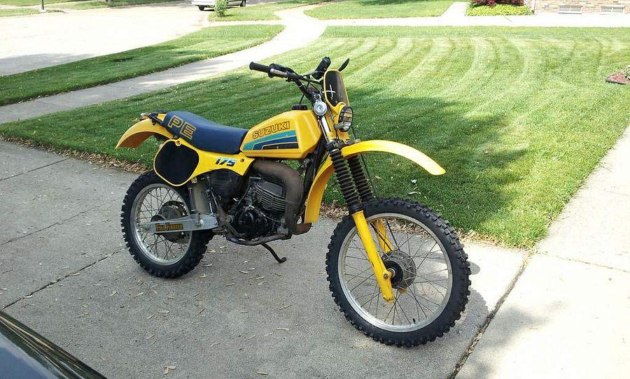 Suzuki PE 175 (1983-84)