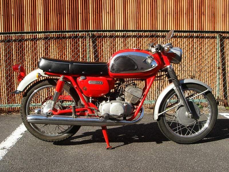 Suzuki T125 (1967-68)