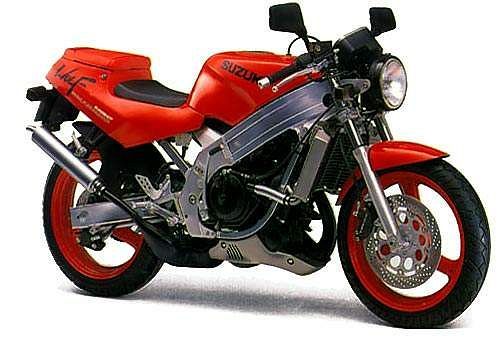 Suzuki TV 250 Wolf (1988-90)