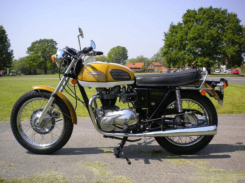 Triumph T120V Bonneville (1974)