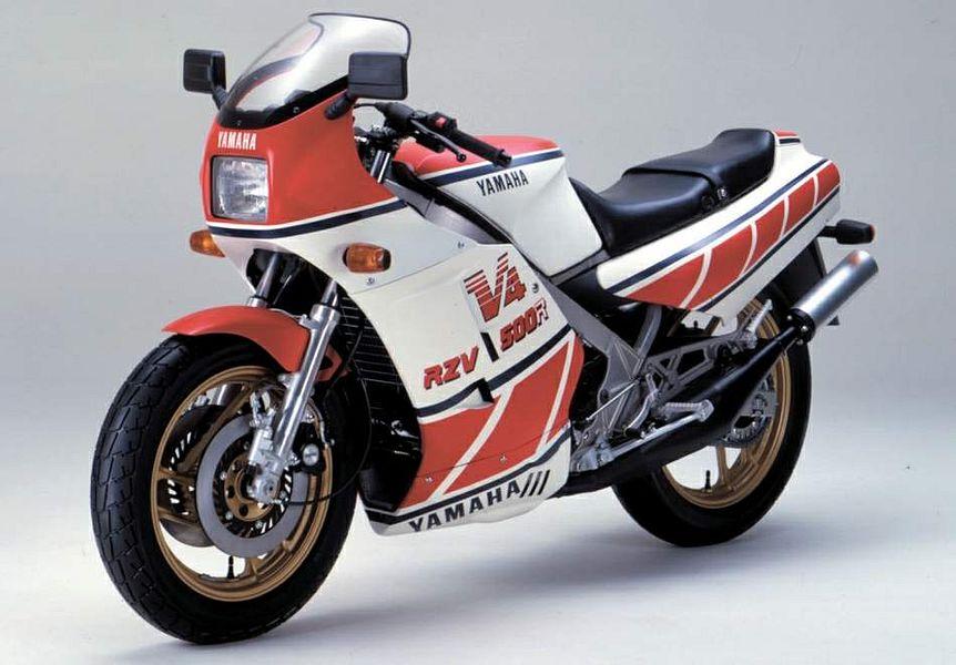 Yamaha RZ500 / RZV500 (1984) - MotorcycleSpecifications com