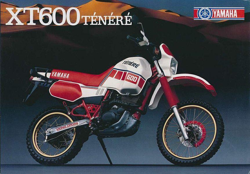 Yamaha XT600Z Tenere (1987)